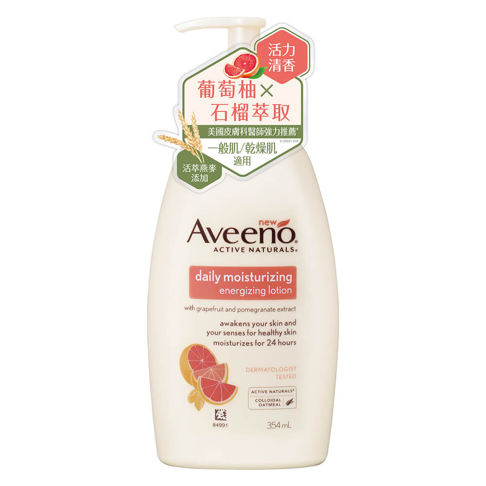 AVEENO® Energizing lotion