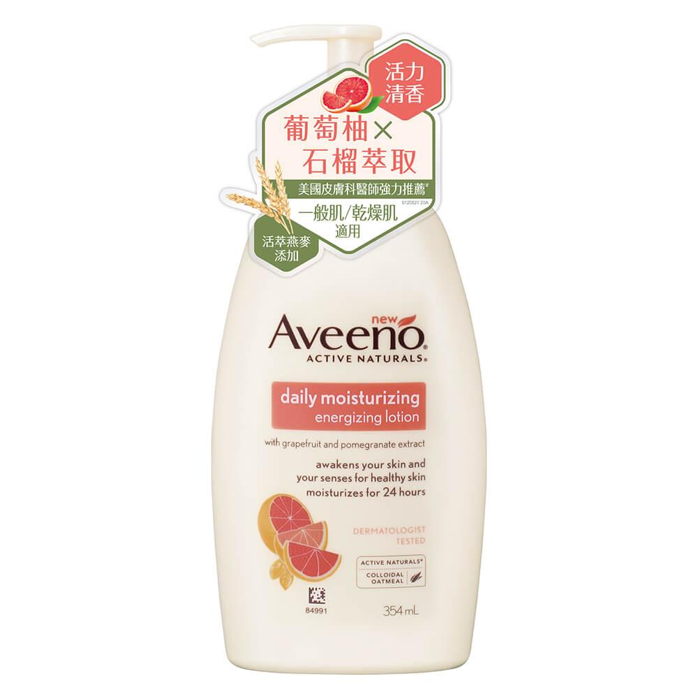 AVEENO® Energizing lotion